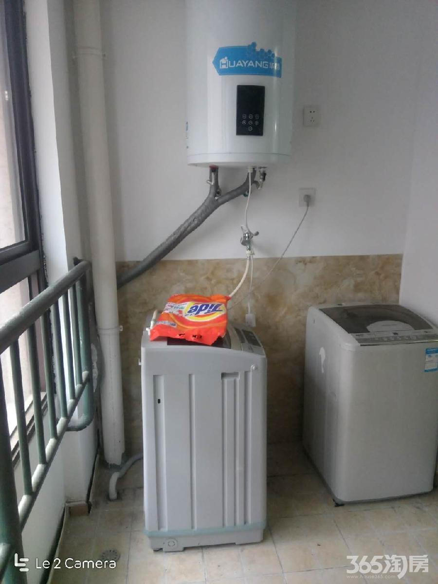 万达茂乐园旁边 中等装修大两室两厅 两台空调 家电齐全 拎包入住