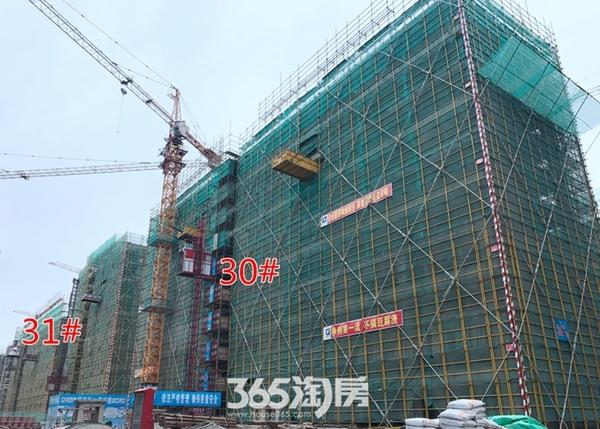 伟星玖璋台30#31#楼施工中(2017.12摄)