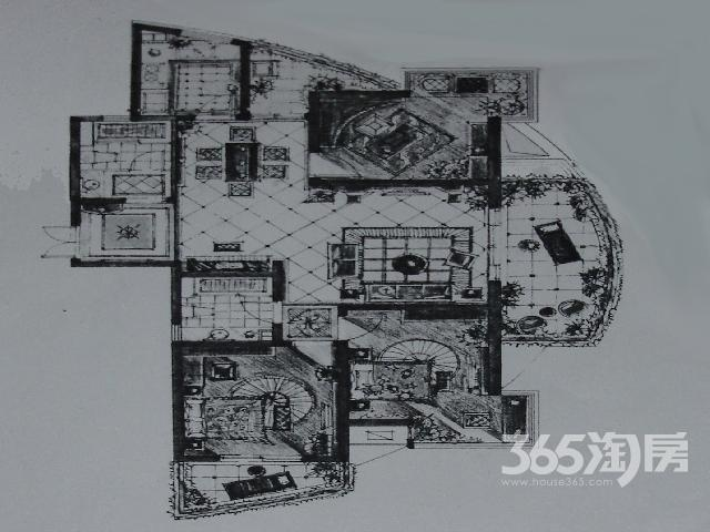 市中心绝版毛坯景观房九洲新世界3室2厅2卫143.00㎡