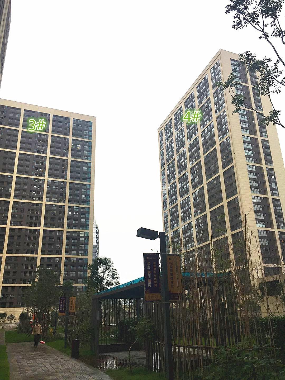 东方万汇城南区3、4号楼实景图(11.15)