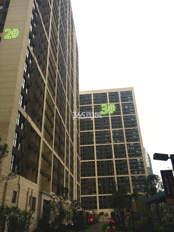 东方万汇城南区2、3号楼实景图(11.15)