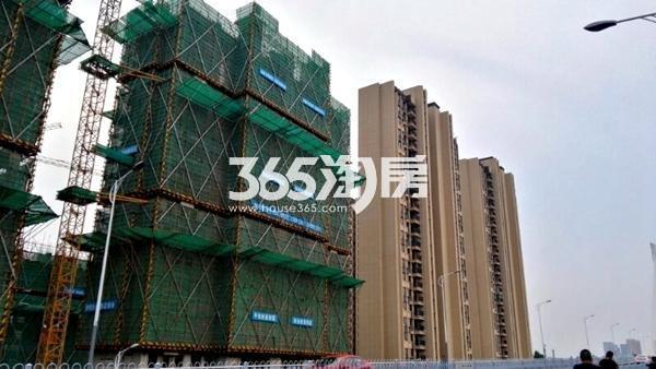 世茂东都天城四期工地实景图5(8.14)