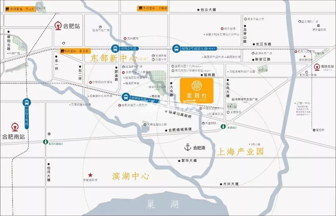 紫玥台交通图