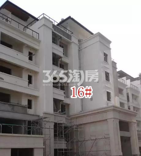 蓝光雍锦园洋房16#楼实景图(2018.8 摄)