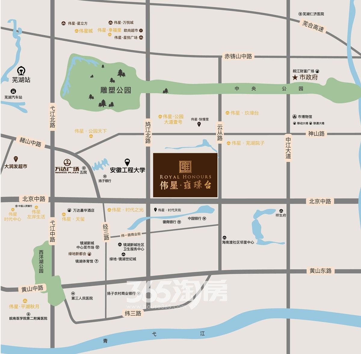 伟星雍璟台交通图