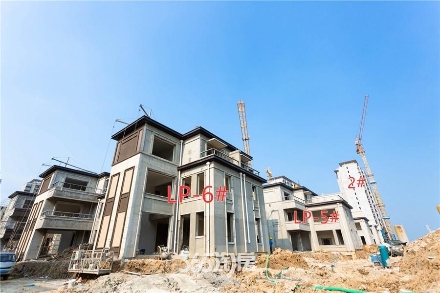 伟星芜湖院子别墅工程进度(2019.8摄)