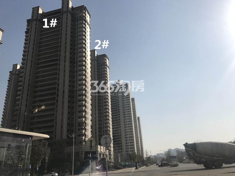 弘阳燕江府1、2号楼进展图(12.25)