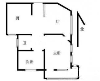 <font color=red>城东新苑</font>2室2厅1卫90平米整租简装