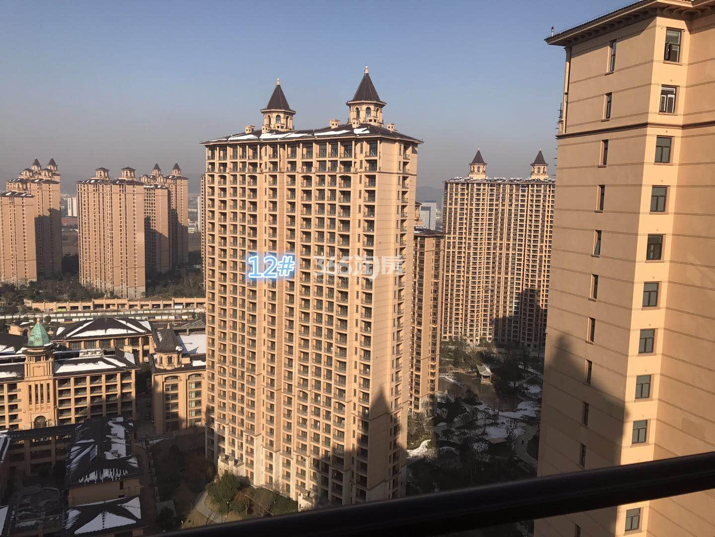 雅居乐滨江国际12号楼实景图(2.22)