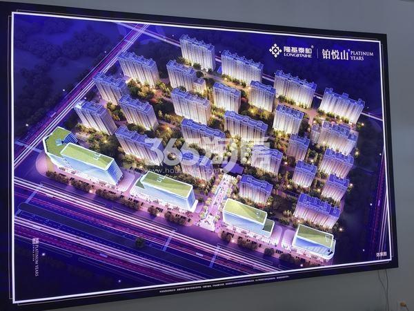 隆基泰和铂悦山实景图