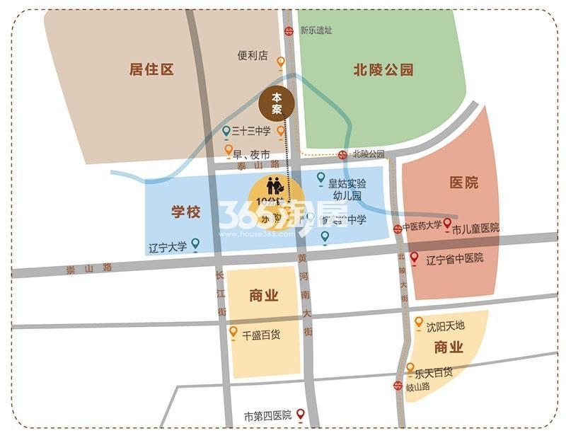 泰和龙庭交通图