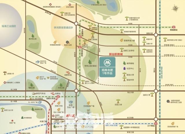 招商公园1872交通图