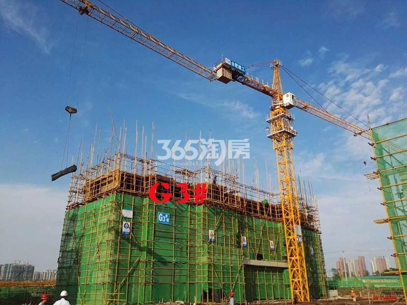 公元天下G3#工程进度实景图(2018.2.23)
