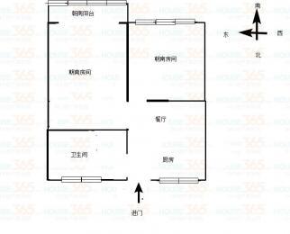 太湖广场地铁口清名新村5楼全新婚装通透朝南两房急售看房有钥匙