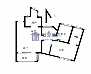世茂滨江新城 热河南路 龙湖春江紫宸 精装两房 随时看 拎包