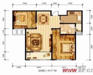 江山花园2室2厅1卫98平米毛坯产权房2016年建满五年