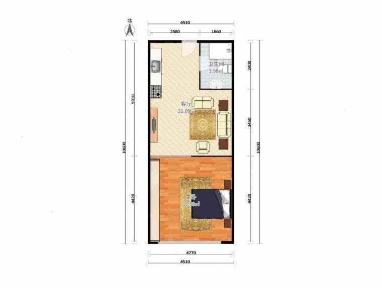 中环国际广场 赤小 交通便利 配套成熟 环境好  室内图 外景图 户型图