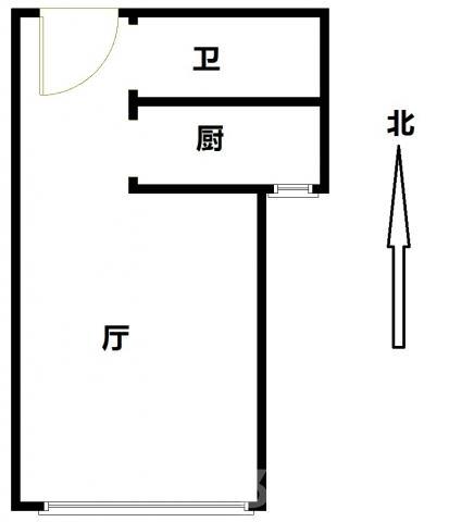 �哄狈闹�城朝南两居室大客厅带装修紧靠地铁客运站