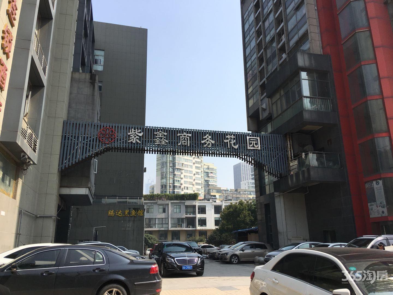 奥体北门紫鑫商务花园办公房可注册公司