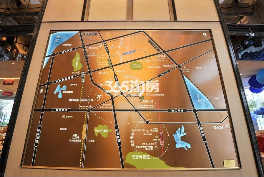 银城孔雀城天荟交通图