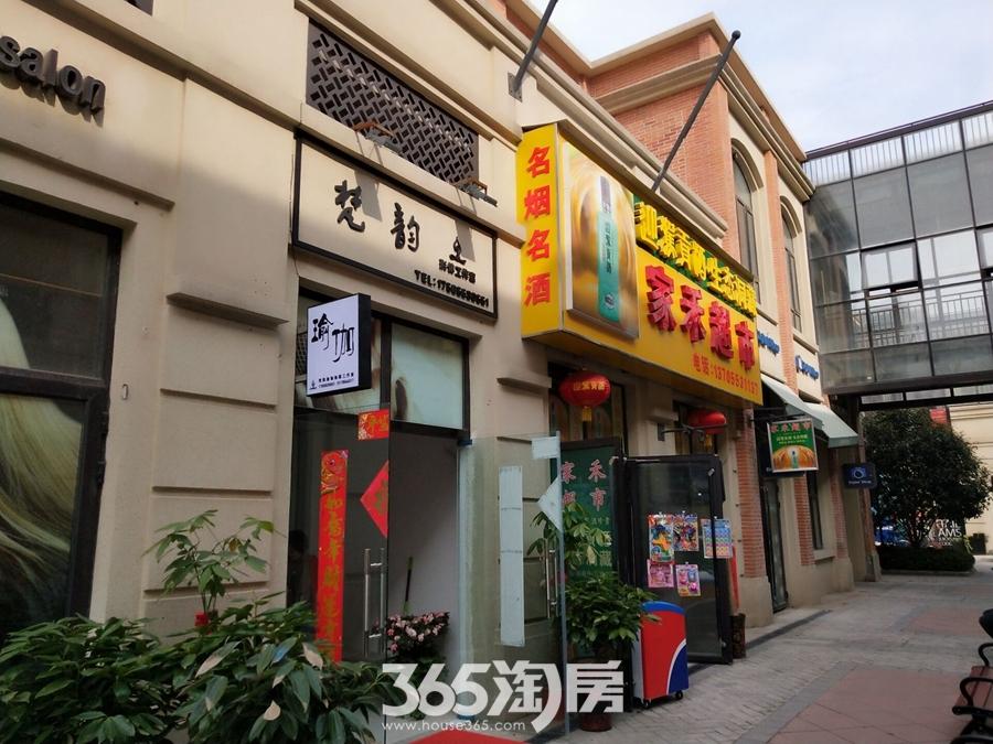 万科海上传奇已营店铺实景图(2018.4摄)