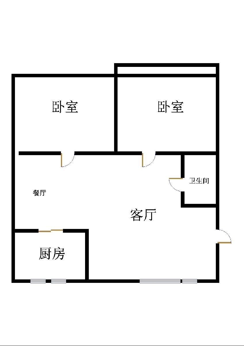 屋内干净 家具家电齐全 拎包入住 刘集社区