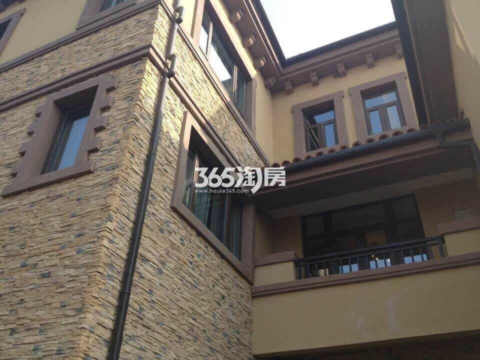 正源尚峰尚水别墅外立面实景图(7.24)