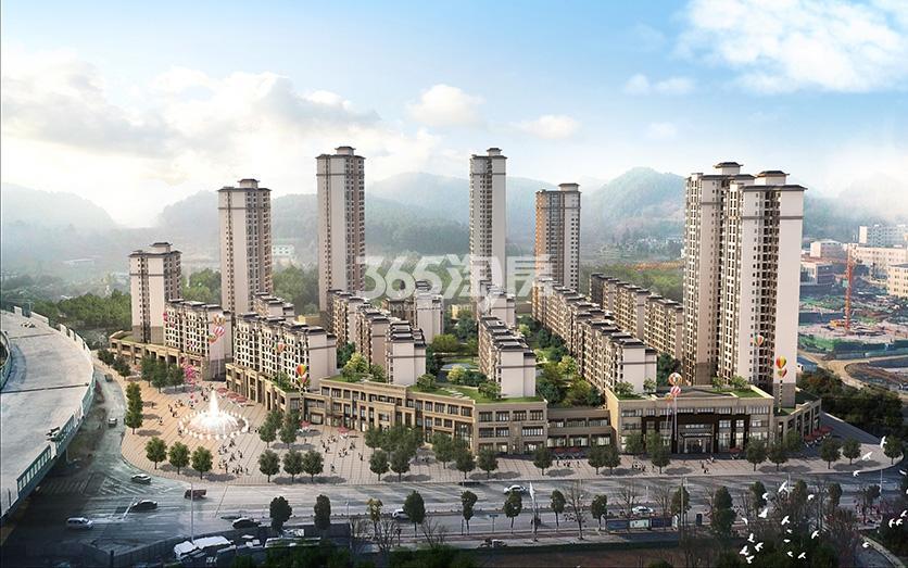 林达阳光新城实景图