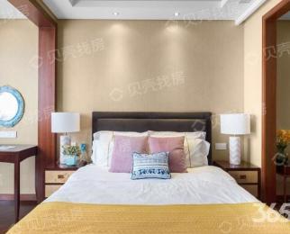 百家湖 绿城水晶蓝湾 奢华单室套 下楼即商圈 拎包入住 黄