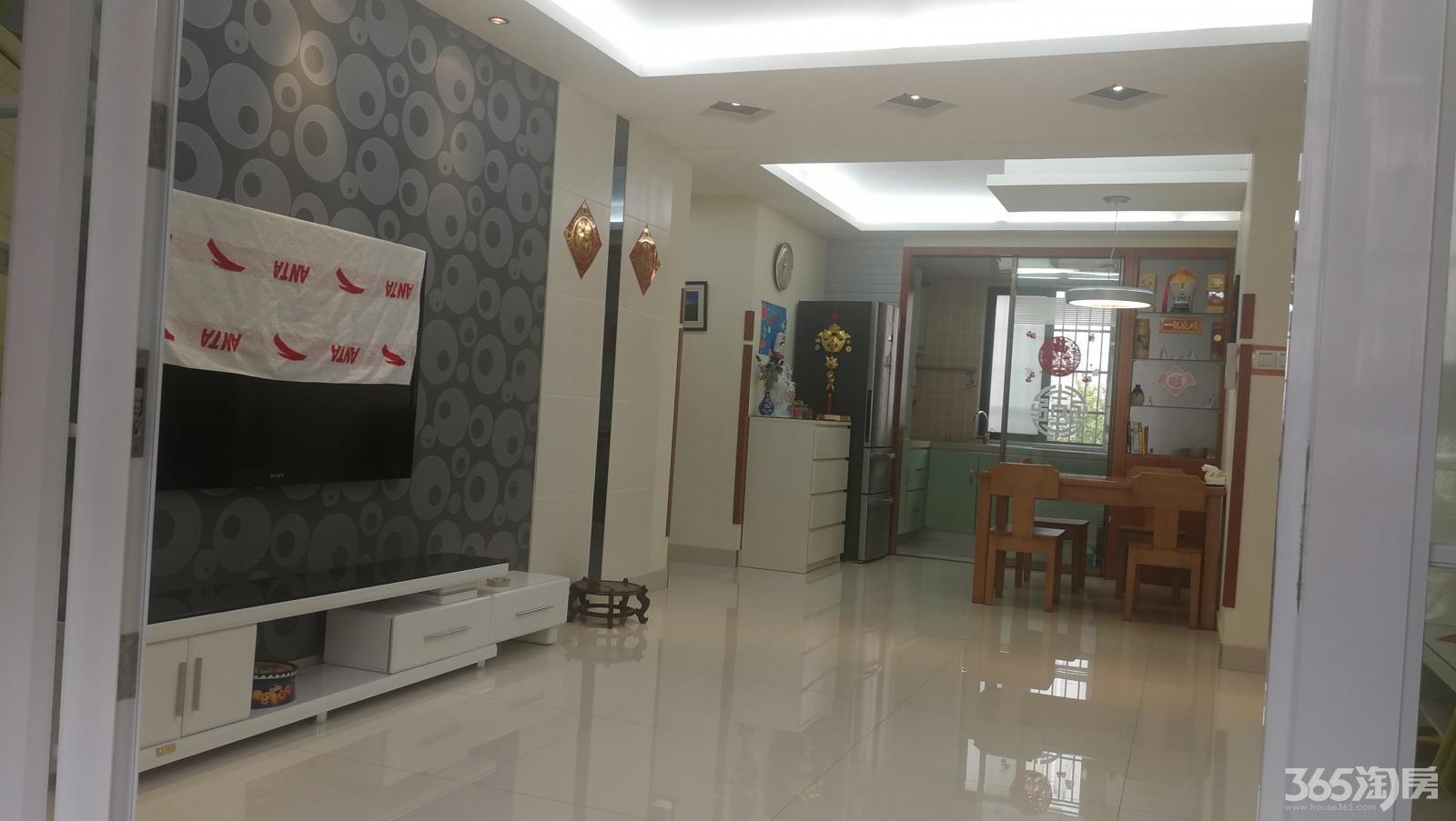 锦绣花园紫桂园3室2厅2卫118.5平方精装满五唯一