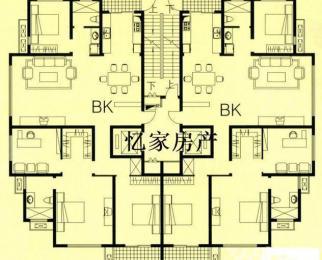 伟星左岸生活B区 钻石楼层 全新毛坯4房 超高性价比 送车位