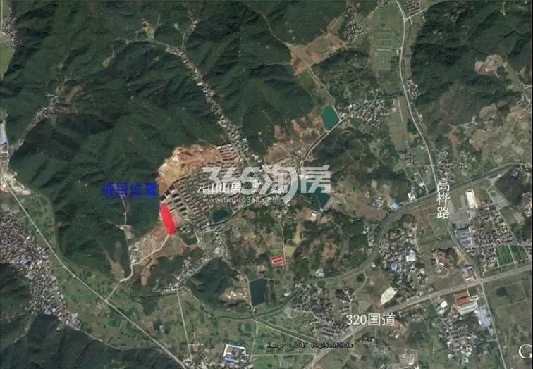 金宇云水山居交通图