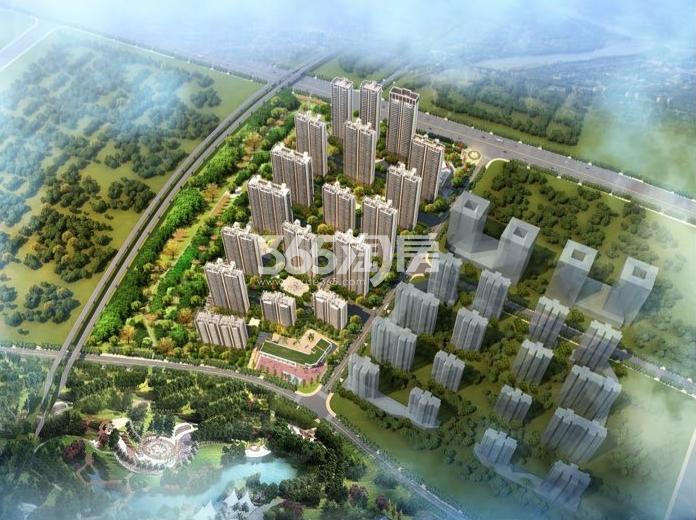 蚌埠碧桂园鸟瞰图
