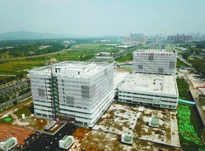 鼓医江北国际医院年底投用 明年8月全面开业
