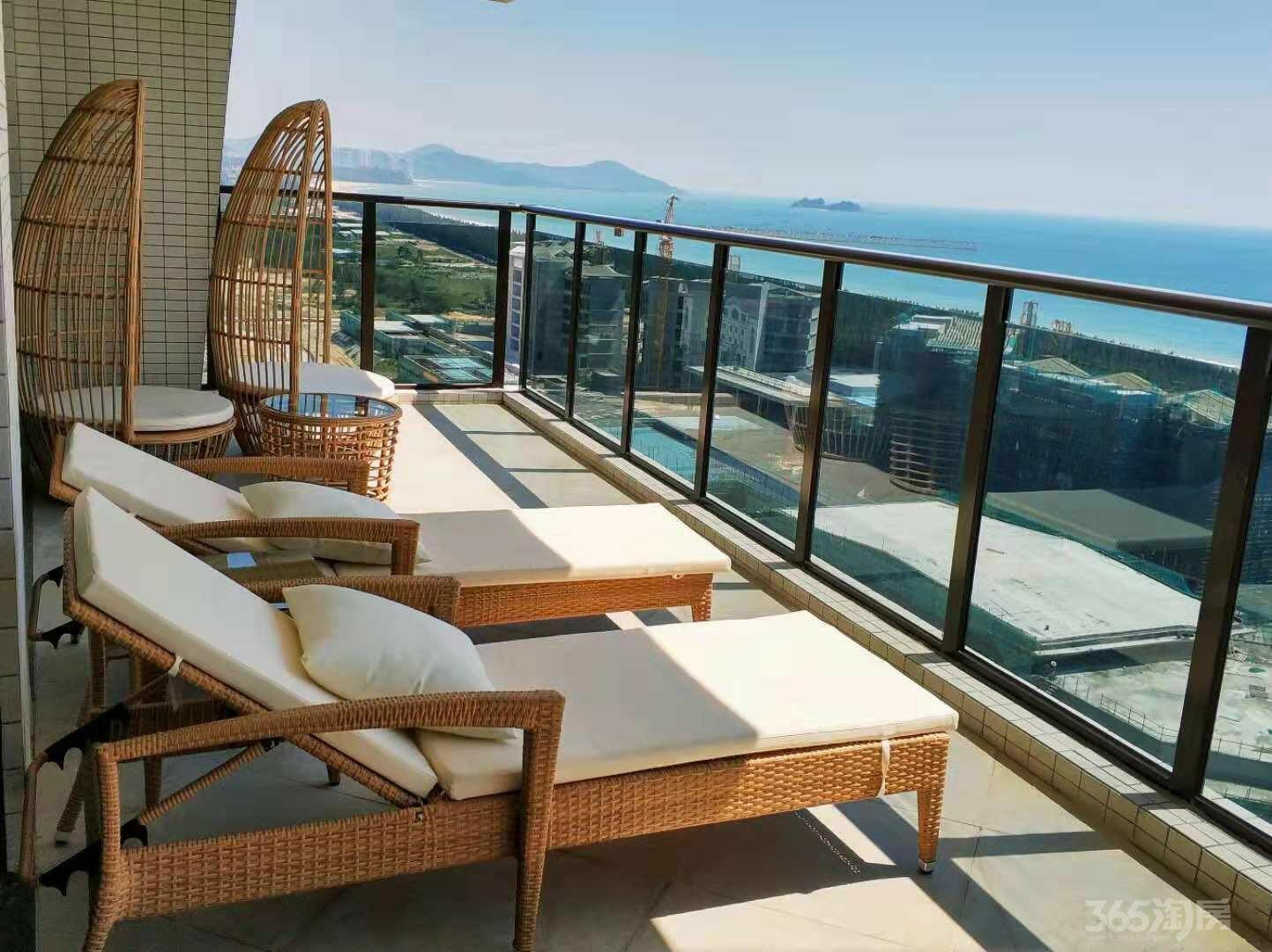 南方北戴河,东方夏威夷,一线海景房首付18万月收3000