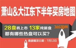 买房地图|萧山&大江东下半年28盘来袭  哪些热盘可以买?