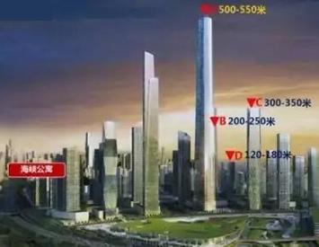 河西南或谋划600米高楼