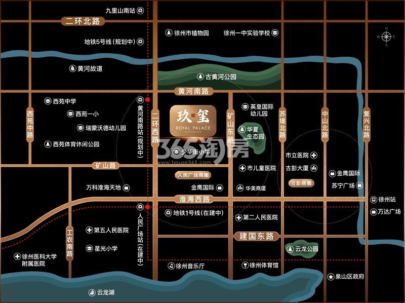 玖玺交通图