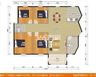 明发滨江新城一期4室2厅2卫138.49平方产权房精装