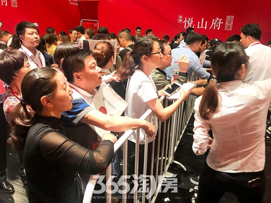 华强悦山府首开(2018.5摄)