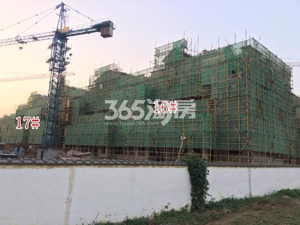 宛溪雅居叠加别墅实景图(2017.11 摄)