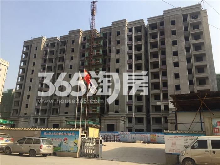 银亿东城9街区在建楼栋实景图(7.26)