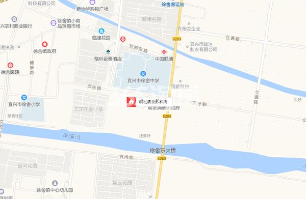 明发浦泰熙和府交通图