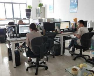 南京站与南京林业大学地铁口 常发广场办公家具齐全精装修