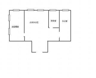 新街口珠江路地铁沿线 君临国际纯写精装带家具 看房方便
