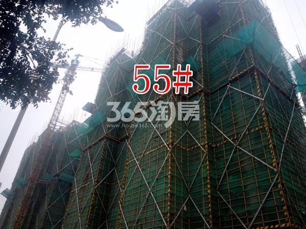 绿地工润和平壹号四期55#工地实景图(10.17)