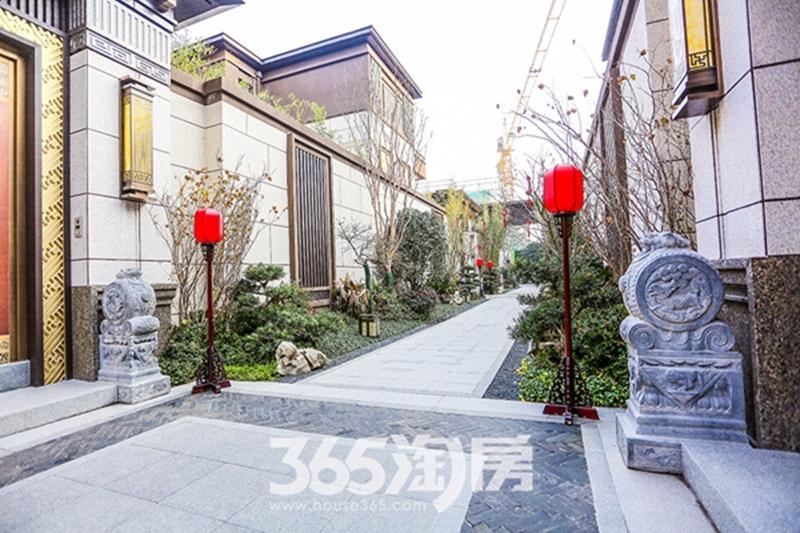 伟星芜湖院子别墅区展示区实景(2019.2摄)