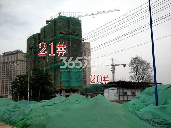 城置万锦城21#、20#工地实景图(5.29)