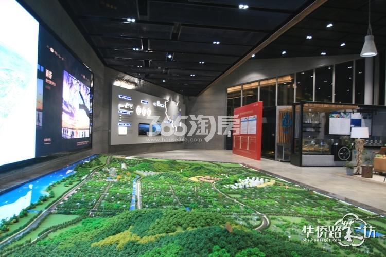 华侨城翡翠天域项目售楼处内实景图(5.5)