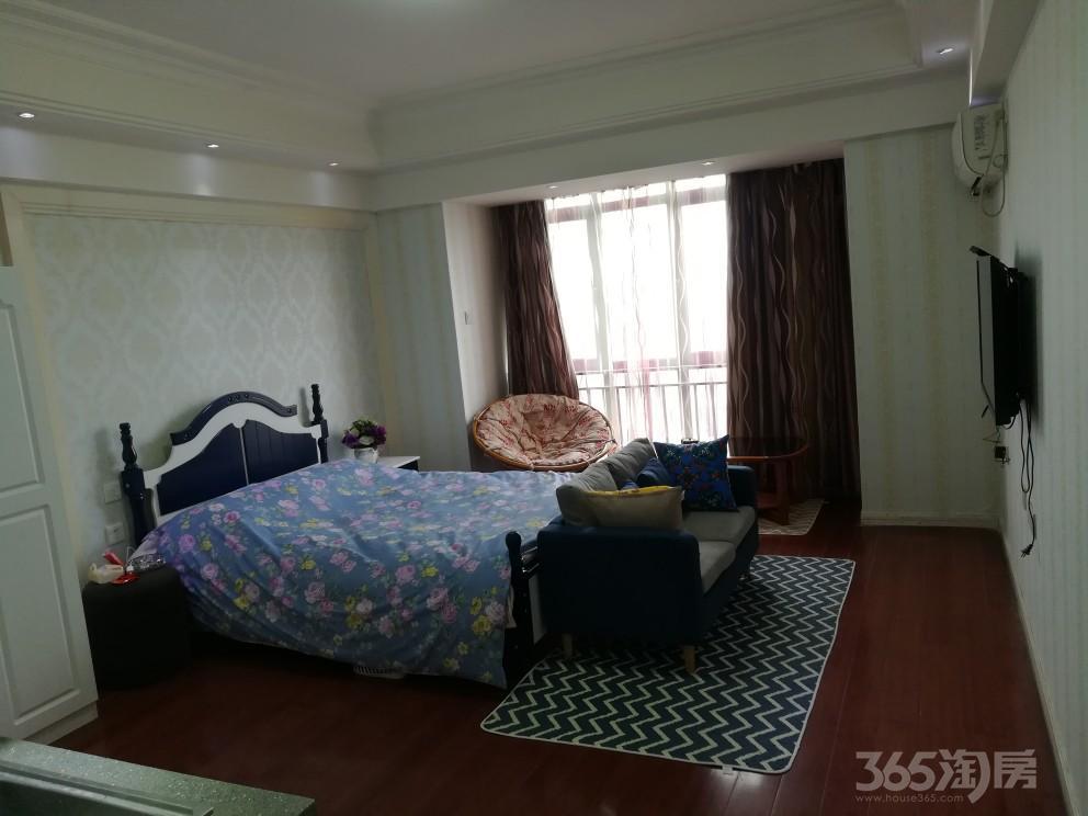 万达广场单身公寓1室1厅1卫45平米整租精装
